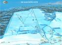 Ski areál Nové Hutě  - mapa areálu