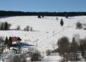 Nové Hutě ski areál Český les