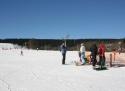 Nové Hutě ski areál Jižní Čechy