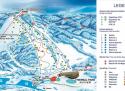 Ski areál Oravice - Meander Skipark  - mapa areálu