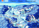 Ski areál Ostružná - JONAS PARK  - mapa areálu