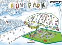 Ski areál PARK SNOW Donovaly  - mapa areálu