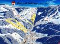 Ski areál Pec pod Sněžkou  - mapa areálu