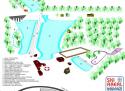 Ski areál Pernink - Pod nádražím  - mapa areálu