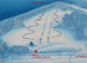 Ski areál Pozděchov  - mapa areálu