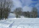 Prácheň ski areál České Švýcarsko