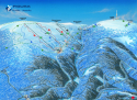 Ski areál Praděd - Ovčárna  - mapa areálu