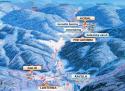 Ski areál Razula  - mapa areálu