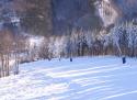 Řeka ski areál Beskydy