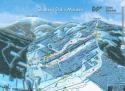 Ski areál Relax & Sport Resort Dolní Morava  - mapa areálu