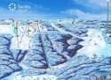 Ski areál Šachty Vysoké nad Jizerou  - mapa areálu