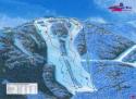Ski areál Severka  - mapa areálu