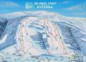 Ski areál Ski Areál Synot Kyčerka  - mapa areálu