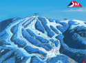 Ski areál Ski centrum Říčky  - mapa areálu