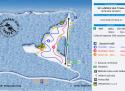 Ski areál Ski klub Trnava  - mapa areálu