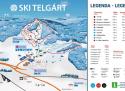 Ski areál Ski Telgárt  - mapa areálu