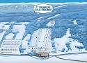 Ski areál Skiareál U Pekina - Dolní Údolí  - mapa areálu