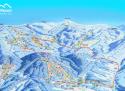 Ski areál Skiport - Velká Úpa  - mapa areálu