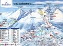 Ski areál Starý Smokovec  - mapa areálu