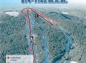 Ski areál Sternstein  - mapa areálu