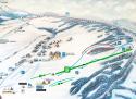Ski areál Strachan Ski Centrum - Ždiar  - mapa areálu