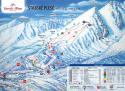 Ski areál Štrbské Pleso  - mapa areálu