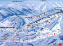 Ski areál Svatý Petr - Hromovka  - mapa areálu