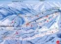 Ski areál Svatý Petr  - mapa areálu