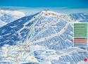 Ski areál Szrenica  - mapa areálu