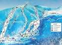 Ski areál Telnice  - mapa areálu