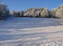 Ski areál Tesák sjezdovka Jižní Morava