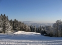 Ski areál Tesák sjezdovka Hostýnské vrchy
