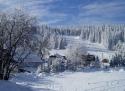 Pernink Velflink ski areál Krušné hory