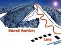 Ski areál Velké Karlovice - Machůzky  - mapa areálu