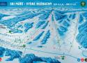 Ski areál Vyšné Ružbachy  - mapa areálu