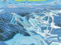 Ski areál Zadov  - mapa areálu