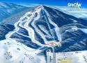 Ski areál Železná Ruda - Špičák  - mapa areálu