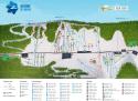 Ski areál Zieleniec  - mapa areálu