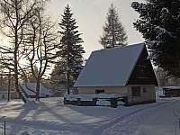 Chata v CHKO Jeseníky